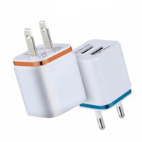 5V 2. 1A EU US AC Home Travel Wall Charger Power Adapter Plug...