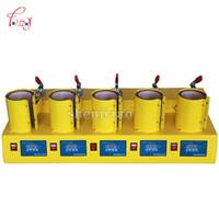 Impressoras Máquina de Imprensa de Calor Multifuncional para Caneca Cup 5 em 1 Transferir com Controle de Temperatura 110V-220V