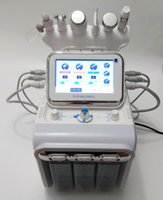 Hydro Facial Dermabrasion Machine Oxygen Water Aqua Jet Peel Oxygen Spray Skin Scrubber Cold Hammer Ultrasonic RF 6 IN 1 Spa Skin Machine