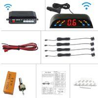 Auto Rückansicht Kameras Parking Sensoren Wireless Los Parktronic Blind Sensor Kit Zigarettenanzünder Lade LED-Anzeige Detektor Hilfsrein