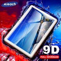 Verre trempé de bordure courbe 9D pour Huawei MediaPad M5 Lite Pro M6 10.8 8.4 m3 Lite 10.1 8 Protecteur d'écran pour MediaPad T5