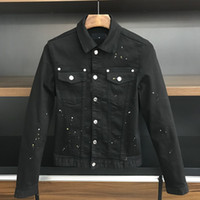 Shirt da uomo in camicia da uomo famoso stile europeo americano Americano Giacca Direct-Stitching Directing Motorcycle Jacke X