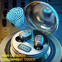 Беспроводные наушники A10 TWS Bluetooth 5.0 Беспроводные Hi-Fi In-Eu Eaum Наушники с круглой цифровой зарядной коробкой Спортивные наушники-наушники