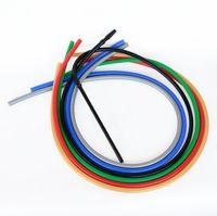 Stelo di alluminio Shisha narghilè Tubo flessibile in silicone Accessori per fumo 1.8m Lunghezza 10 Colore con punte in metallo Punte Tubi Tubi Strumenti