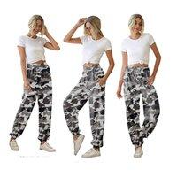 Женские свободные летние высокая талия бесшовные йоги брюки с боковыми карманами вскользь стиль тренировки дышащих фитнес тренажерный зал брюки кг-121