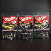 Hot Wheels 1:64 Carro Collector Edição 50th Anniversary Metal Diecast Cars Coleção Kids Brinquedos Veículo para o presente LJ200930
