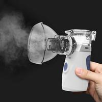 Eleoole mini portátil portátil inala nebulizer silencioso ultra-sônico inalador nebulizador crianças recarregável adulto automizer