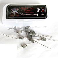 Demon Killer Notch Coil SS316L Heating Wire 0.2ohm Prebuilt Notch Wire Coils For Wismec Theorem RTA Atomizers DHL