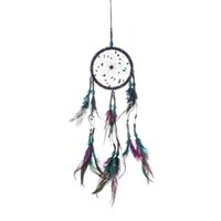 Colorful Lana Dream Catcher Wind Chime Net Arredamento per la casa Arredamento Indoor New Trend Pendant Ornament Wall Hanging Feather Nuovo arrivo 10 5xR m2