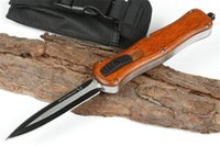 Benchmade Mchenry infiel ébano manija opcional infiel cuchillos de doble hoja del cuchillo táctico de los cuchillos del cuchillo que acampan regalo 3300 A07 cuchillo