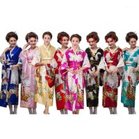 Japanese Kimono Traditional for Women Clothing 2020 Japan Dr...