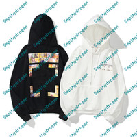 Moda religiosa pintura al óleo impresión con capucha para hombre con capucha x impresión con capucha imprimida Unisex mujeres con capucha Casual Harajuku Pullovers Streetwear Plus Cashmere