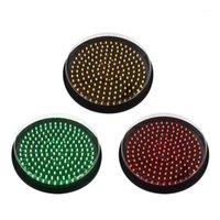 Modulo di semaforo a LED trini a 300mm con copertura chiara1