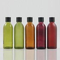 Glasflasche mit glänzenden schwarzen Kappe für kosmetische Produkte foundition, e Flüssigkeit 60 ml Glasflaschen