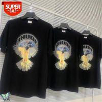 Barış güvercin rhude t shirt erkek kadın t-shirt # 5n4b
