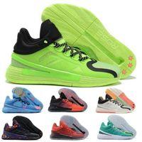 MVP DERRICK D ROSE 11 hommes Basketball chaussures Sneakers 2021 Nouveau Brenda Oreo Famille Premier signal Vert Chine Lumière Strike Strike Volt Baskets Chaussures