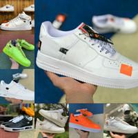 Nike Air Force 1 one airforce Shoes Ventas calientes 2021 Beat Designers Shoes Vintage New Forces Zapatillas de skate Triple Negro Blanco Marrón Lino Naranja