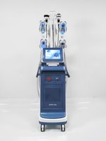 Cryolipolysis 슬리밍 기계 Cryo Lipo 레이저 40K Cavitation Body RF Face RF 동결 체중 감량 이중 턱 제거