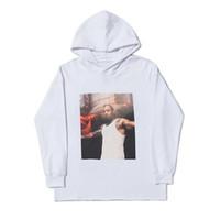 Hip hip hop styliste sweat à capuche haute qualité blanche blanche manches longues hommes stylistes hommes hoélistes hommes femmes sweatshirts taille s-xl