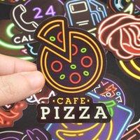 Motorradgitarre Wasserdichte Graffiti Neonaufkleber Zeichen Skateboard Headset Laptop Party Decor DIY Für Gepäckabdeckungen PCS Bar 50 Auto GI RTMR