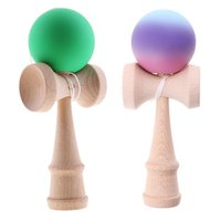 18 см Деревянная кендама умелая жонглирование мяч игрушка для детей взрослых рождений рождественский подарок Y200428