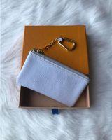 4 Color Key Pouch Damier Pelle Holds High Quality famoso Designer classico Donne Portachiavi Portachiavi Portabicchieri in pelle Piccoli portafogli in pelle
