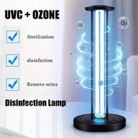 Purificatori d'aria EU Stock Ozono UV Light Light Disinfezione Lampada al quarzo Sterilizzatore Bulb 38W Ultraviolet UVC Sanitizer Germicida
