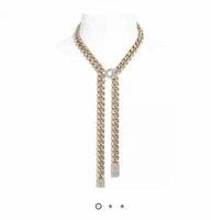 Moda con hielo colgante collar de cadena para hombres y mujeres amantes regalo joyería hip hop con caja
