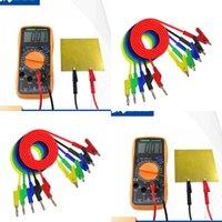 Pure Color Plug Brow Multiremeter можно подключить домашний практичный гаджет банановой штекер для Alligator Clip Test 4 6LQ J2