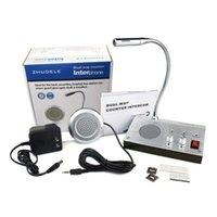 ZDL-9908 Dual-Way contatore citofono Audio Record di uscita anti-interferenza stazione degli autobus di Window sistema di interfono per Banca Ospedale