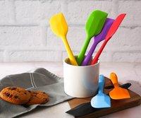 Torta creativa Piccola crema per utensili Spatola Spatola fai da te lama di cottura piccola raschietto di cottura ad alta temperatura Resistente al silicone Rascaper LLS234