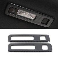 Accessoires de voitures ABS en acier inoxydable Lecture arrière Couvercle de la lumière Cadre Cadre Cadre Décor pour Mercedes-Benz A-classe W177 V177 2018-2021