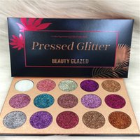 ¡La mejor calidad en stock !! Beauty Glitter Glitter Paleta de ojos 15 colores ojo sombra paleta maquillaje ultra shimmer cara cosméticos maquillaje