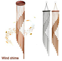 18 Tubes Wind Chimes Metal Wind Bells Nordic Classic Handmad...