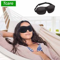 TCARE 3D Sleeping Eye Mask, Travel Sleep Eye Shade Cover NAP Eye Patch Blindfold Blints Crea Total Darkness per donna uomo