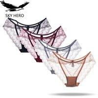 Sky Hero Sous-vêtements Femmes Sexy Culotte Lot Overdergoed Dames Slips Dentelle Slips Culotte Femme Coton Sous Vetissement Femme Vente chaude FH