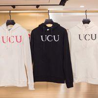 19ss fabriqués en Italie logo Logo Mode Lettre géométrique Sweatshirt Hommes Femmes Street Sweat à capuche HFSSWY006