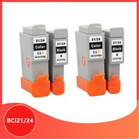 Cartridges Compatibel BCI21 21 BCI24 24 Inkjetcartridge voor Canon-printers PIXMA IP1000 IP1500 IP2000 MP110 MP130 Printer Cartridges1