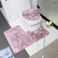 Mat Kalıp Korumalı Koltuk 3 adet Kış Dekorasyon Aksesuarları Kapak Ev Otel Luxe Tuvalet Bant Pad Banyo Tocador Pfnoa