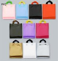 Большие размеры подарок пластиковая сумка, пластиковая упаковочная сумка для одежды, свадебные подарки бутик покупки упаковочная сумка с ручкой1