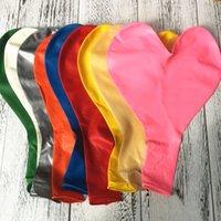 36 inç Kalınlaşmak Kalp Şeklinde Balon Büyük Lateks Düğün Doğum Günü Partisi Dekorasyon Aşk Lateks Balonlar Sevgililer Günü Balon KKF3808