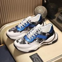 أحدث B24 الرجال عارضة الأحذية B22 B23 CANAGE Motif Canvas Stylist أحذية الأزياء الكل مباراة شبكة الأحذية خمر الكلاسيكية أحذية مع صندوق