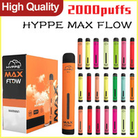 Hympe Max Flow Dispositif de vape jetable Stylo Local 2000 Puffs Cartouches de vapeur pré-remplies Pods Stick Style Portable Vaporisateur VS Puff