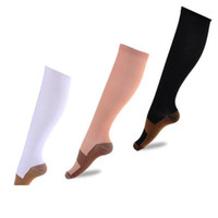 Men Crew Fiber Breathable Long Compression Stockings Anti- Sl...