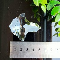 50 mm Cristales claros Cortina Cortina Colgante Araña Cristalras Prismas Suncatcher Colgante Ornamento Decoración Lámpara de cristal Accesorios H Jllzsz