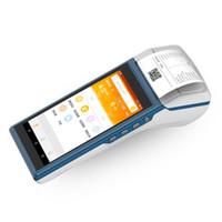 프린터 ZKC5501 WCDMA NFC RFID Android 루지 지불 터미널 프린터 바코드 QR 코드 스캐너