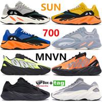 Yeni Güneş Parlak Mavi Koşucu 700 V1 V2 Koşu Ayakkabıları Yansıtıcı OG Katı Gri Atalet Turuncu Yardımcı Siyah Statik Basketbol Sneaker