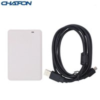 Chafon UHF سطح المكتب USB UHF RFID قارئ الكاتب ISO18000-6B / 6C لنظام التحكم في الوصول بطاقة عينة مجانية، SDK Demo Software1