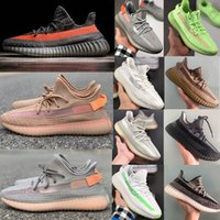 Adidas Yeezy 350 V2 Running shoes Kanye west 350 Butter Sesame Beluga 2,0 Zebra Sneakers Sapatos de desporto Eur 36-47 Sem Box