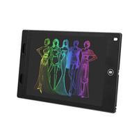 Neue LCD-Schreibentablette 12-Zoll-Digital-Zeichenbrett, 8,5-Zoll-elektronisches Gekritzel-Pad, Geschenk für Kinder Büro-Schule-Rede Nehmen Sie Notizen-Memo schwarz